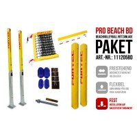 Funtec Pro Beach Beachvolleyball Netzanlage BD