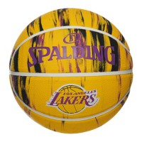Spalding NBA Hardwood Series LA Lakers Marble