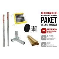 Funtec Beach Basic Beachvolleyball Netzanlage CB