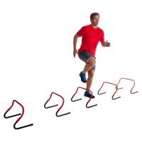 Pure2Improve Sprint Hürden verstellbar 5er Set