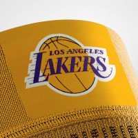 Bauerfeind Sports Compression Knee Support NBA - Lakers