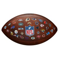 Wilson NFL 32 Team Logo Football