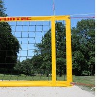 Funtec Pro Beach Plus Beachvolleyball Netz - stationär