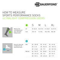 Bauerfeind Run Ultra Light Compression Socks