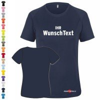 Funktions T-Shirt Damen - Bedruckt