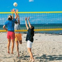 Donet Beachvolleyball Turniernetz - 8,5m