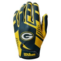 Wilson NFL Team Super Grip Gloves Junior