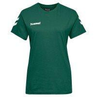 Hummel Go Cotton T-Shirt Damen Team Set