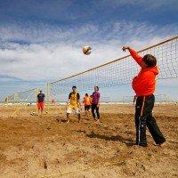 Funtec Beachvolleyball Freizeitnetz