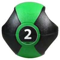 Pure2Improve Medicine Ball mit Griffen