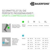 Bauerfeind Ski Ultralight Kompressionsstrumpf