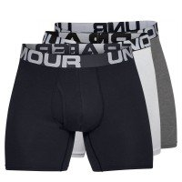 Under Armour Charged Cotton Boxer 6in 3 Pack