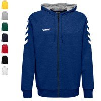 Hummel Team Set Go Cotton Trainingsanzug mit Kapuze