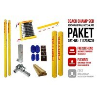 Funtec Beach Champ Beachvolleyball Netzanlage Switch+CB