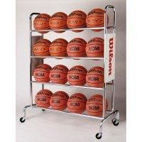 Wilson Basketball Cart Ständer für 16 Bälle