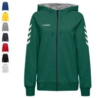 Hummel Team Set Go Cotton Trainingsanzug mit Kapuze Damen