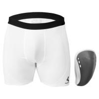 Mueller Sport-Shorts mit Flex-Schutzeinsatz