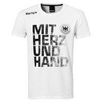 Kempa DHB Mit Herz & Hand T-Shirt