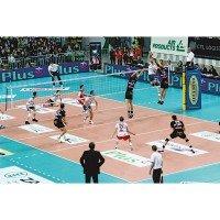 Huck Volleyball Turniernetz 5077 mit Kevlarseil - DVV1