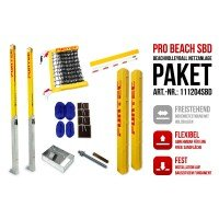 Funtec Pro Beach Beachvolleyball Netzanlage Switch+BD