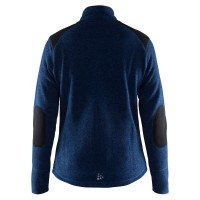 Craft Noble Heavy Knit Fleece Zip Jacket Damen