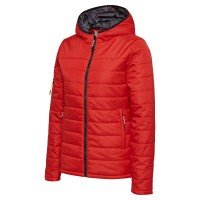 Hummel North Quilted Hood Jacket Damen