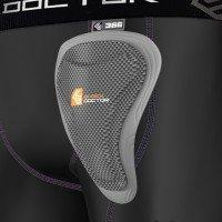 Shock Doctor Core Compression Shorts Damen mit Beckenschutz