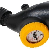 Spalding Dual Action Pump mit Balldruckmessgerät